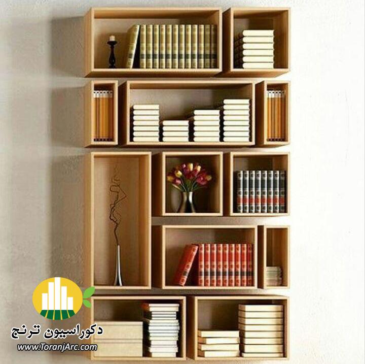 bookshelves 10 کتابخانه
