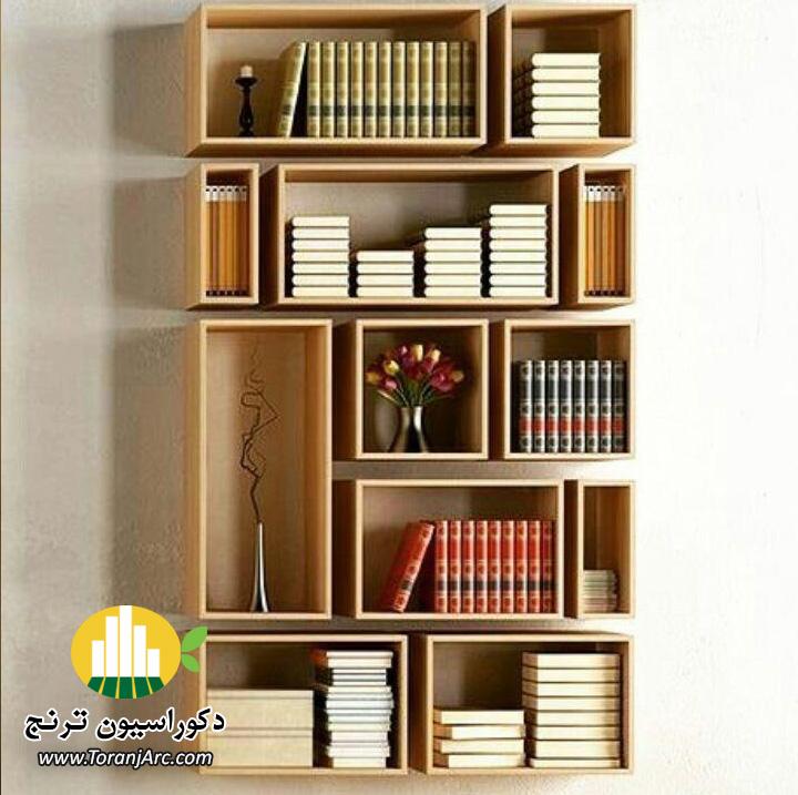bookshelves 17 کتابخانه