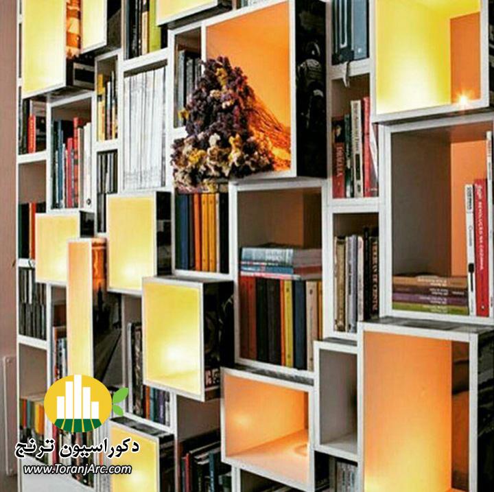 bookshelves 2 کتابخانه