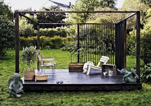 outdoor decoration دکوراسیون فضای باز
