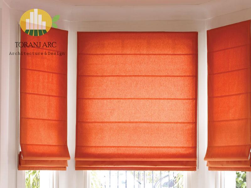 roman curtains 2 پرده رومن