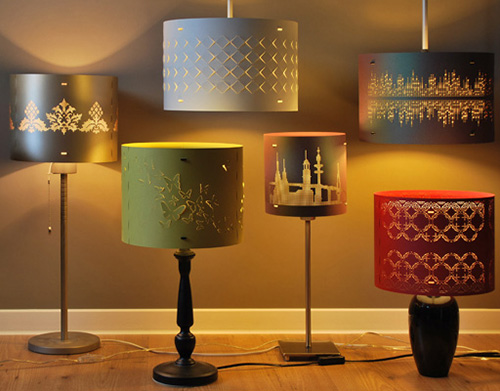 stellavie butterfly lampshades 1 آباژورهای جدید در دکوراسیون منزل
