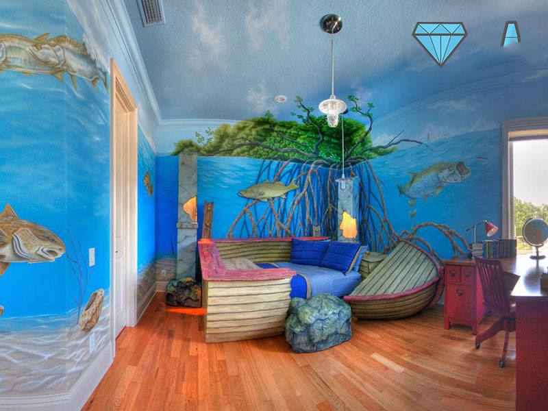 kids bed design 13 5 ایده برای دکوراسیون تختخواب اتاق کودک