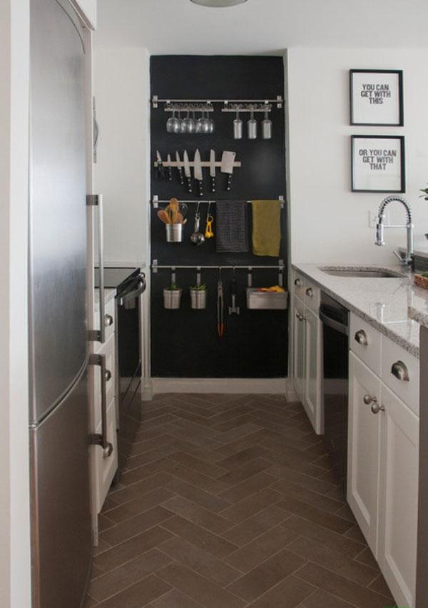 kitchen2 5 ایدهی مهم برای آشپزخانه کوچک
