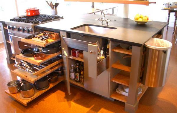 kitchen4 5 ایدهی مهم برای آشپزخانه کوچک
