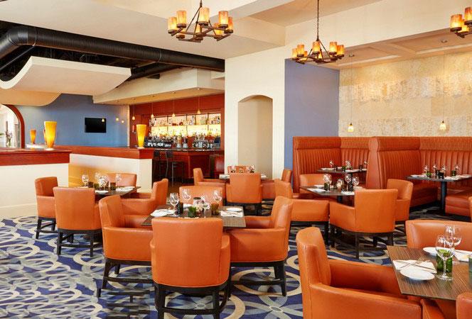 restaurant8 ایده های مهم دکوراسیون و چیدمان رستورانها