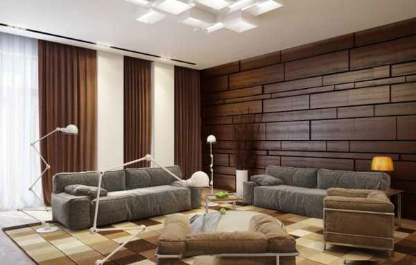 kkkkk دکوراسیون داخلی خانه با پانل های چوبی