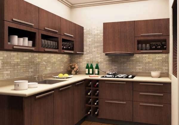 cabinet kitchen MDF1 مدل کابینت های ام دی اف برای آشپزخانه های بزرگ و کوچک