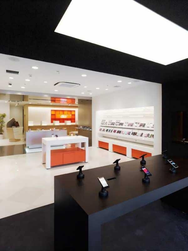 Mobile Store Decoration 16 دکور مغازه موبایل فروشی چگونه باشد؟