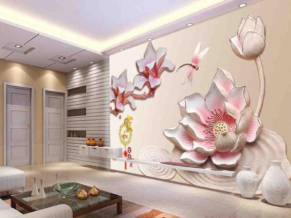3d wallpaper 2 کاغذ دیواری سه بعدی