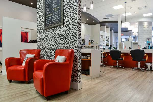 hairdressers decoration13 دکوراسیون آرایشگاه مردانه