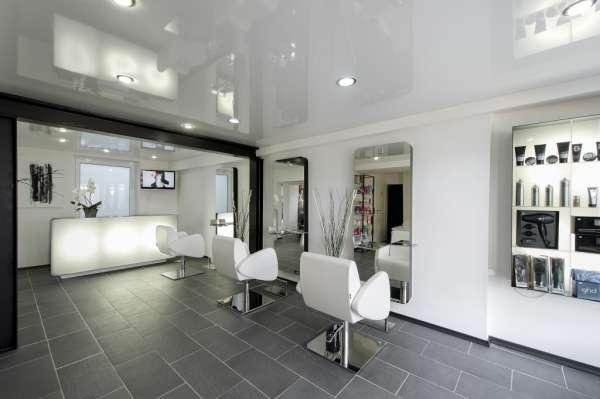hairdressers decoration2 دکوراسیون آرایشگاه مردانه
