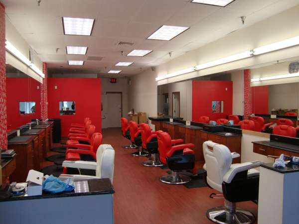 hairdressers decoration6 دکوراسیون آرایشگاه مردانه