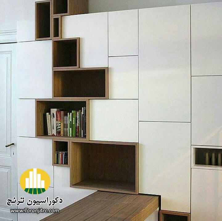 bookshelves 13 کتابخانه