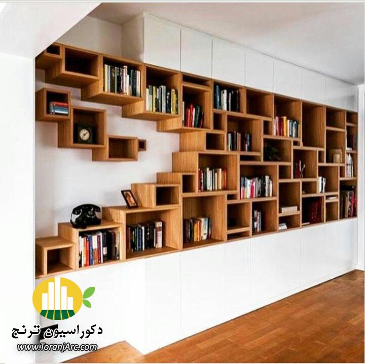 bookshelves 6 کتابخانه