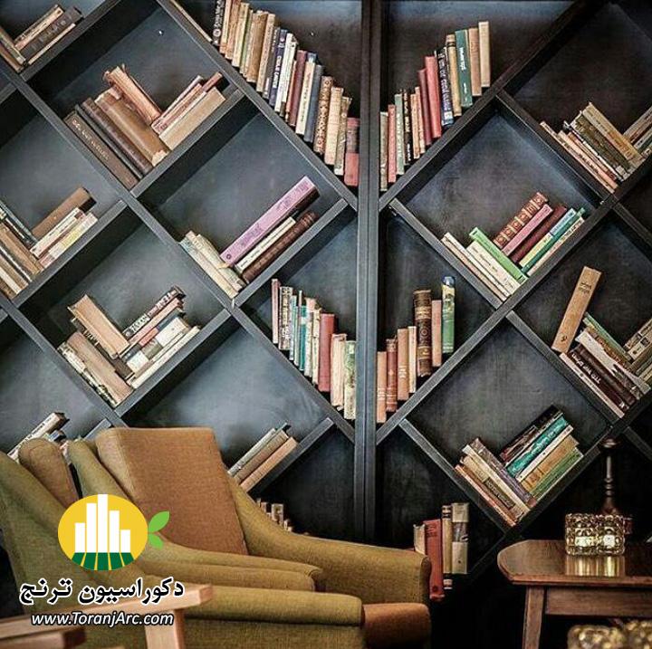 bookshelves 7 کتابخانه