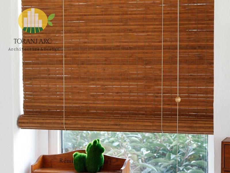 bamboo curtains 3 پرده بامبو