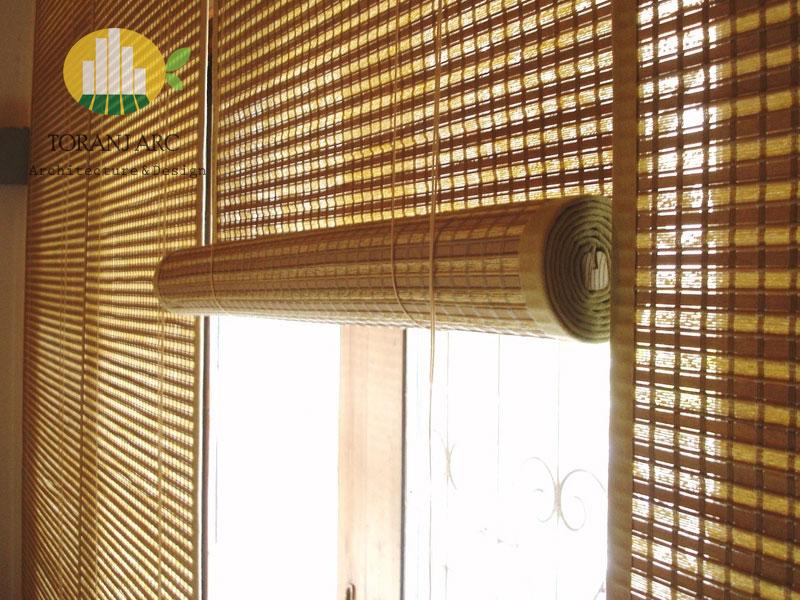 bamboo curtains 6 پرده بامبو