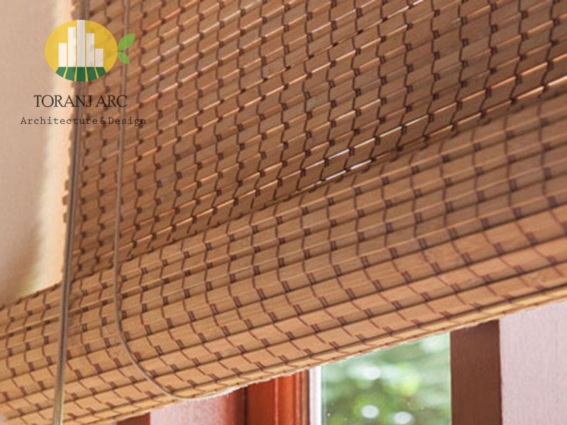 bamboo curtains 7 پرده بامبو