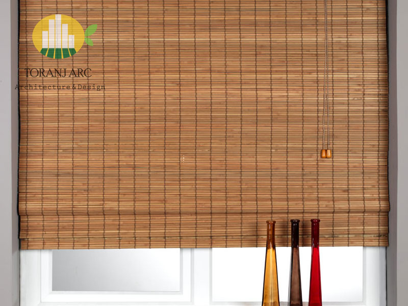 bamboo curtains 8 پرده بامبو
