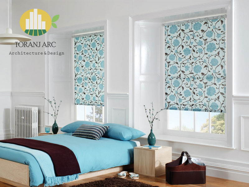 roll shade blinds 4 پرده شید رول