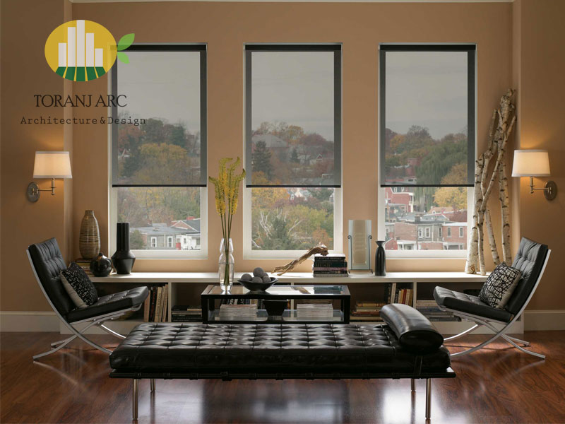 roll shade blinds 5 پرده شید رول