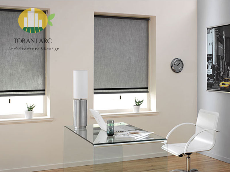 roll shade blinds 7 پرده شید رول