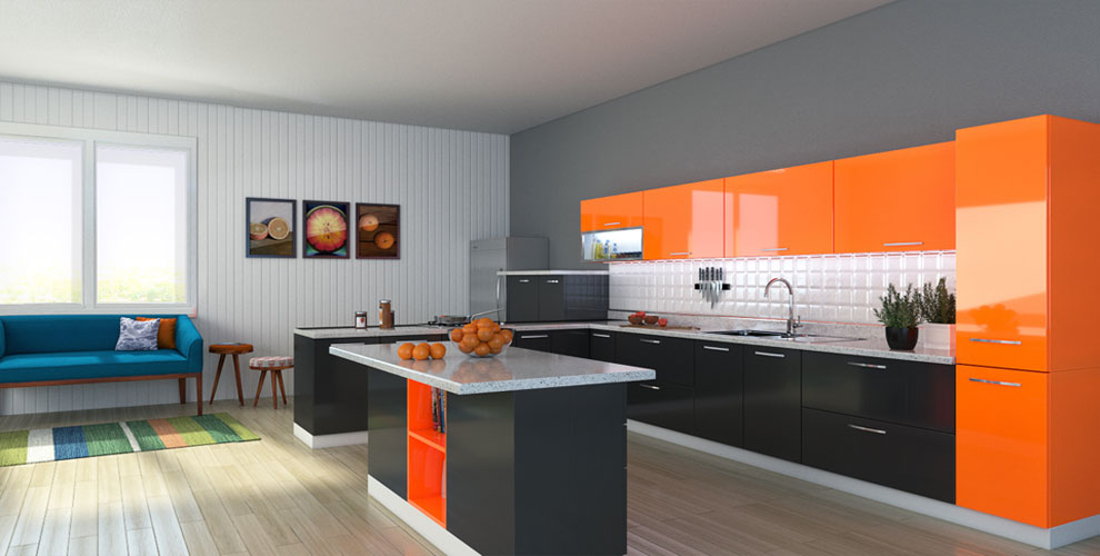 Which material to choose kitchen cabinets 4 دکوراسیون آشپزخانه