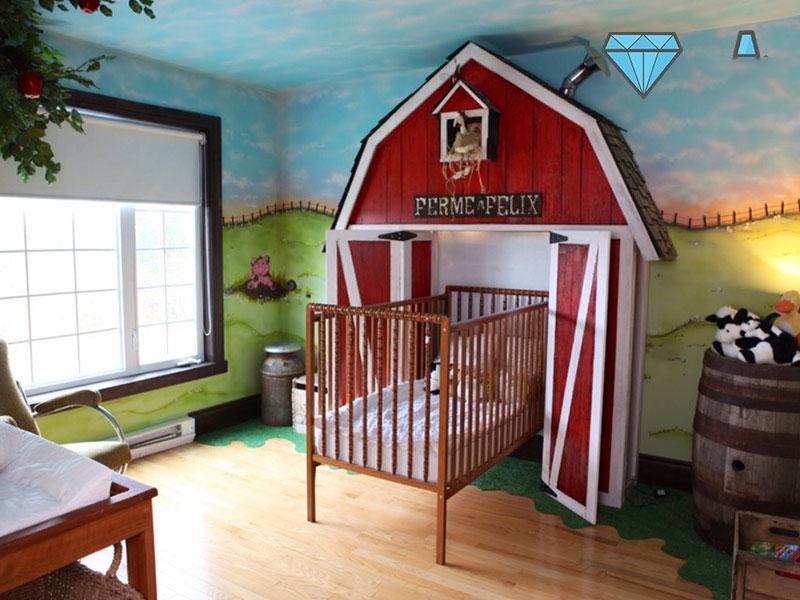 kids bed design 10 5 ایده برای دکوراسیون تختخواب اتاق کودک