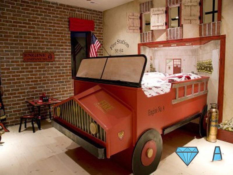 kids bed design 4 5 ایده برای دکوراسیون تختخواب اتاق کودک