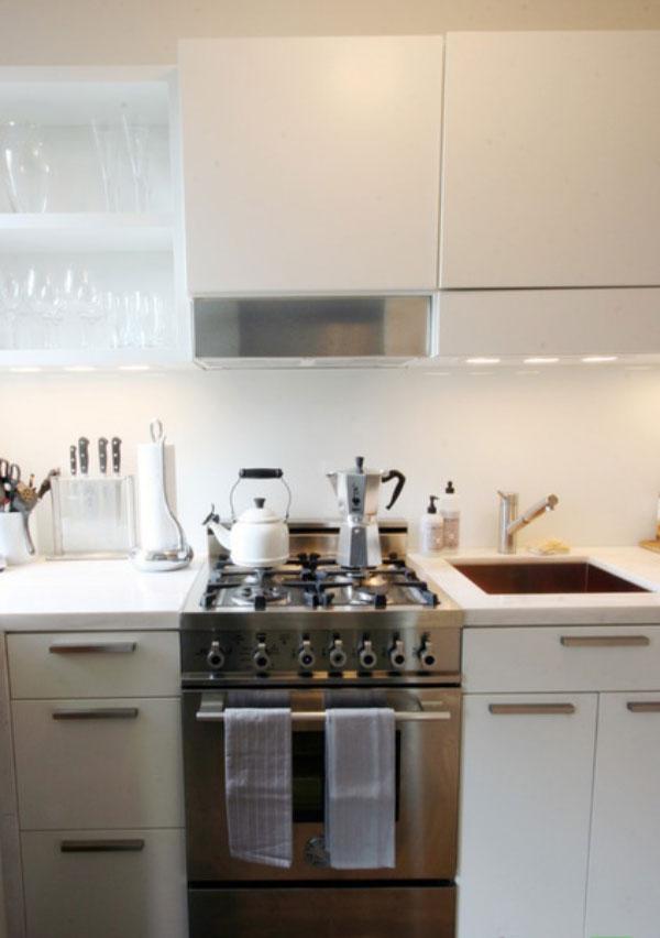 kitchen1 5 ایدهی مهم برای آشپزخانه کوچک