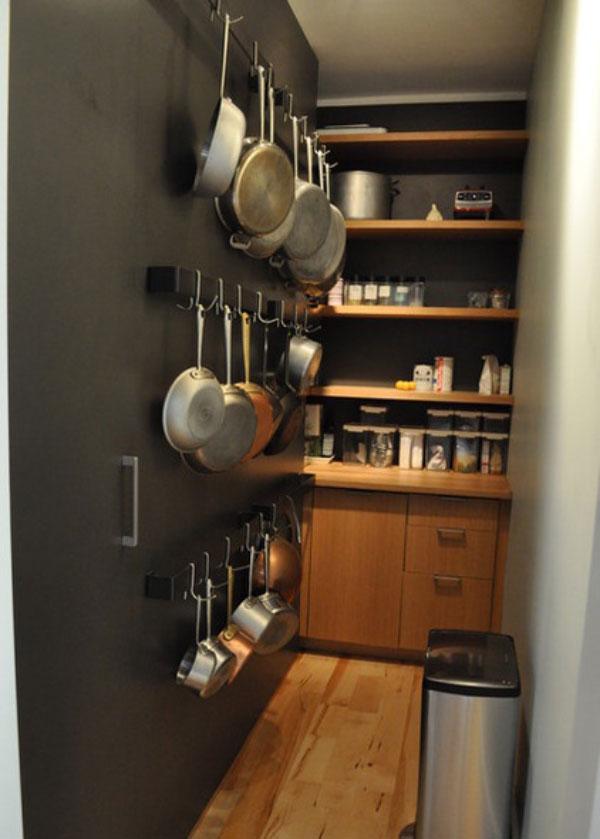 kitchen3 5 ایدهی مهم برای آشپزخانه کوچک