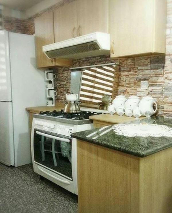 Bridal kitchen layout11 چیدمان و تزیین آشپزخانه جهیزیه عروس