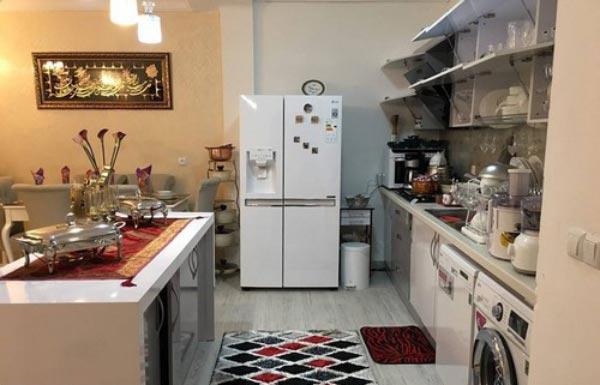Bridal kitchen layout2 چیدمان و تزیین آشپزخانه جهیزیه عروس