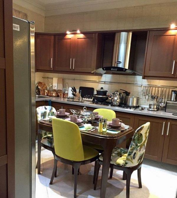 Bridal kitchen layout4 چیدمان و تزیین آشپزخانه جهیزیه عروس