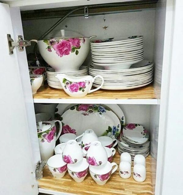 Bridal kitchen layout8 چیدمان و تزیین آشپزخانه جهیزیه عروس