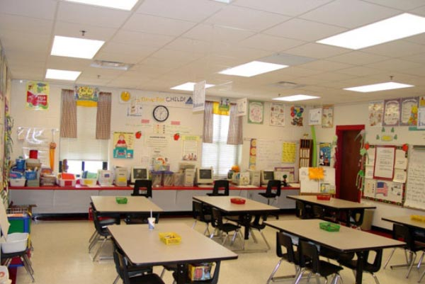 school picture 8 نگاهی تازه به طراحی داخلی مدرسه
