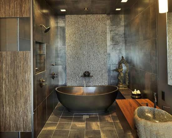 Bathroom decoration1 طراحی دکوراسیون مدرن حمام ایرانی