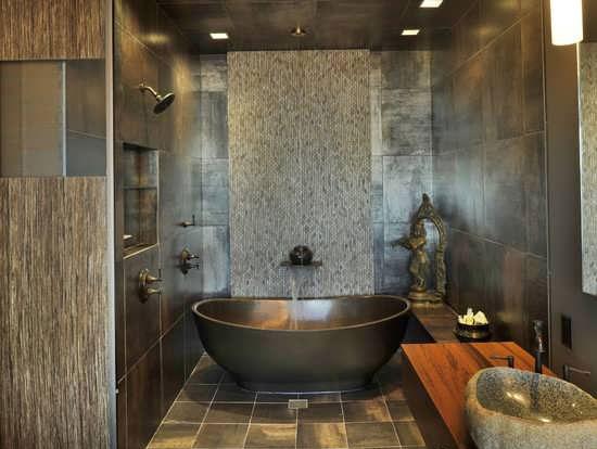 Bathroom decoration6 طراحی دکوراسیون مدرن حمام ایرانی