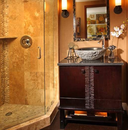 Bathroom decoration8 طراحی دکوراسیون مدرن حمام ایرانی