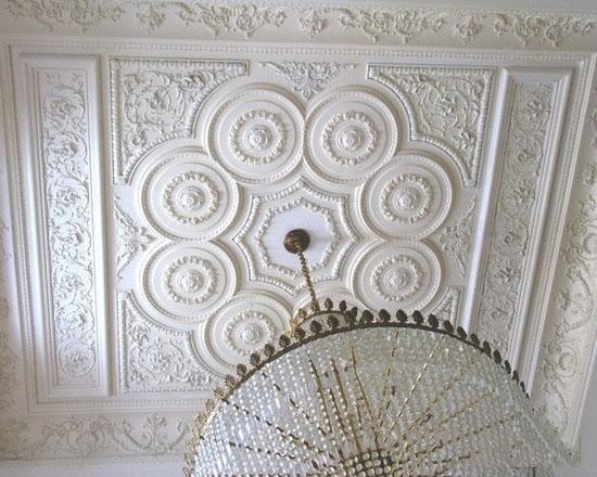 plaster decoration1 ۸ گچبری کلاسیک برای دکوراسیون شاهانه