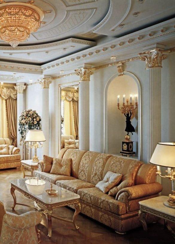 plaster decoration2 ۸ گچبری کلاسیک برای دکوراسیون شاهانه