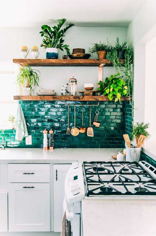 decorate the kitchen1 گلدان های زیبا برای تزیین آشپزخانه