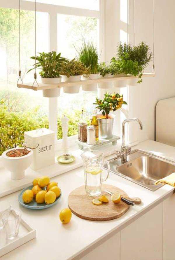 decorate the kitchen3 گلدان های زیبا برای تزیین آشپزخانه