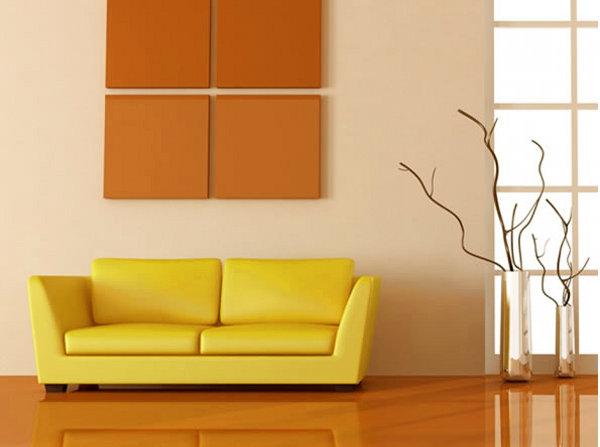 qu color debo pintar mi casa 9 sofa amarillo de que color pintar las paredes pintomicasa این رنگ ها در سال ۲۰۱۸ در دکوراسیون منزل مد شدند