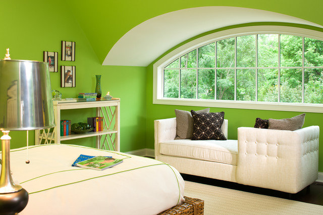 traditional bedroom این رنگ ها در سال ۲۰۱۸ در دکوراسیون منزل مد شدند