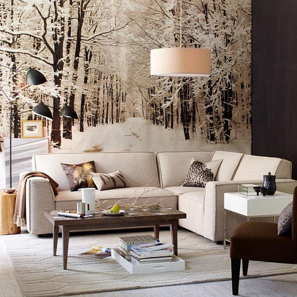 winter interior design 2 زمستانی کردن دکور خانه های ایرانی