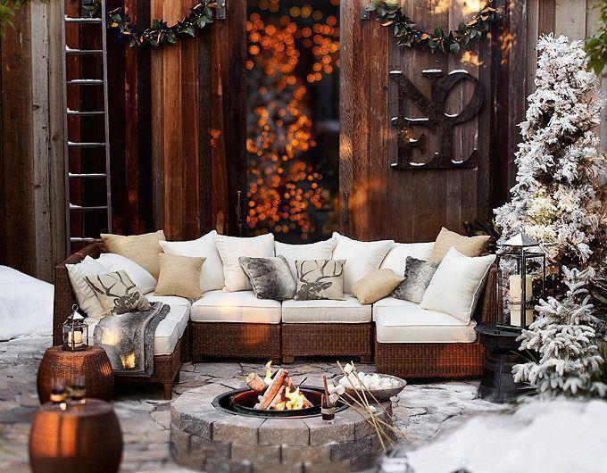 winter interior design زمستانی کردن دکور خانه های ایرانی
