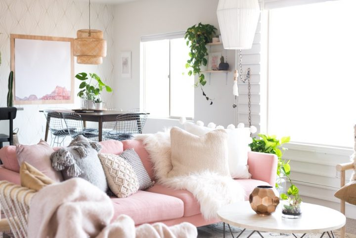 Spring ideas on decoration 2 ایده های بهاری در دکوراسیون