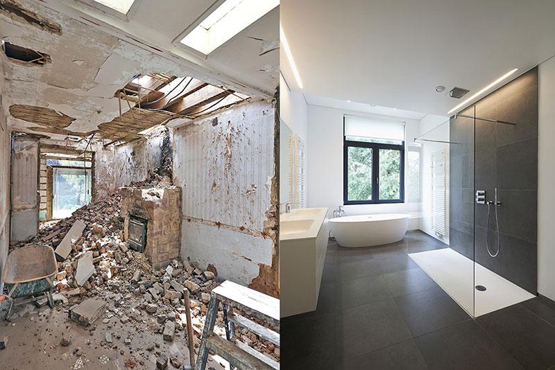 renovation بازسازی ساختمان